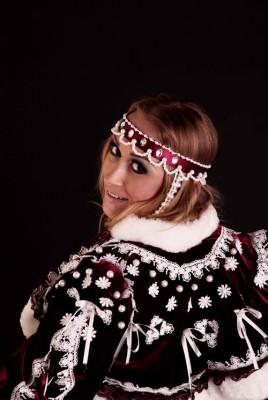 Русский бархатный костюм
