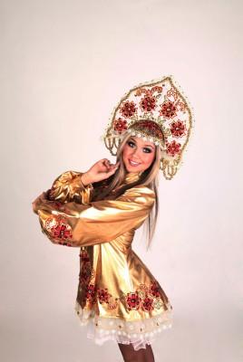 Русский золотой костюм
