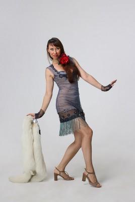 Платье в стиле Чикаго на прокат