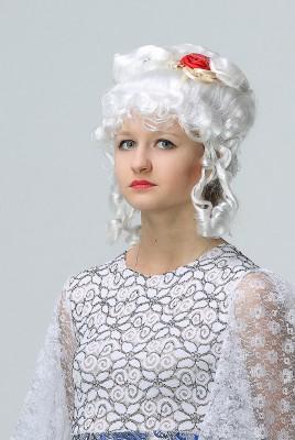 Белоснежный парик