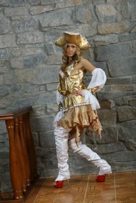 На пиратскую вечеринку в золотом