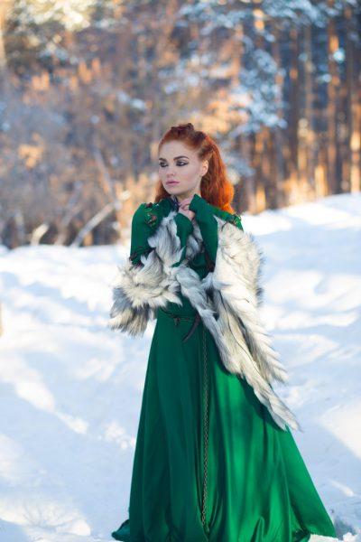 Платье в стиле «Игры престолов» в аренду