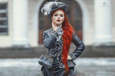 Дворянский женский костюм 19 век